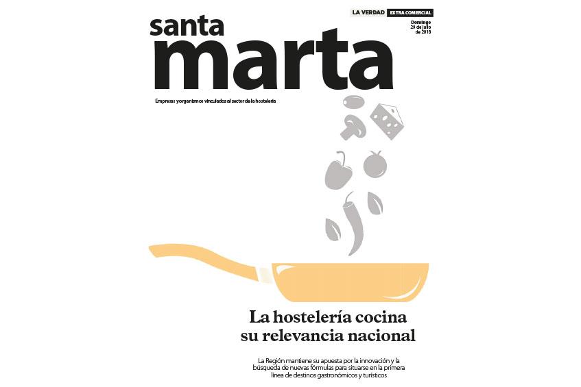 Jugos Ecológicos de Murcia presente en el especial Santa Marta del Diario La Verdad
